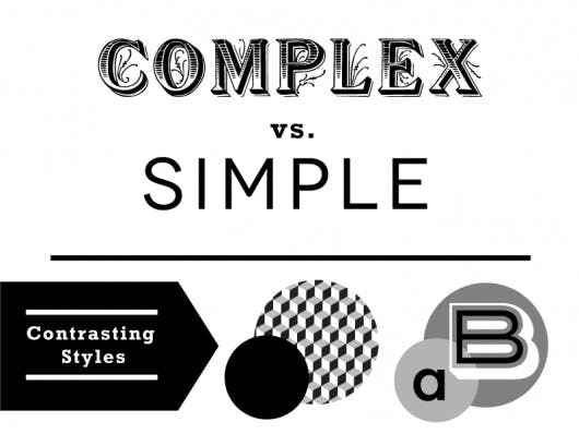 contrast-complex-simple