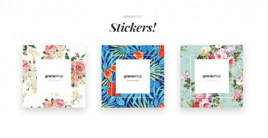 contrast-floral-stickers