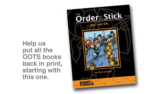 The Order of the Stick Reprint Drive