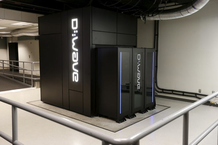 A D-Wave 2X Quantum Computer pictured during a media tour of the Quantum Artificial Intelligence Laboratory (QuAIL) at NASA Ames Research Center in Mountain View, California