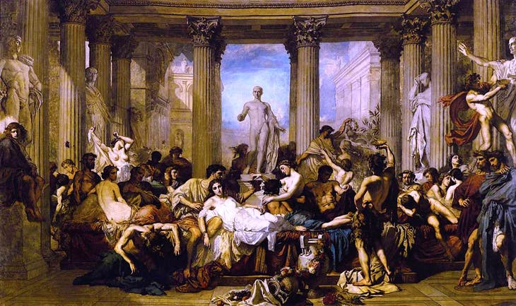 Photo credit: Romans of the Decadence  by COUTURE, Thomas, 1847